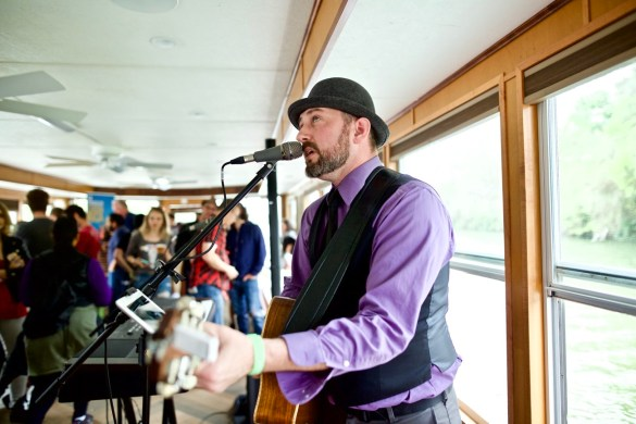 Eric Erdman // 30A Riverboat Cruise // SXSW 3/16/2017. Photo by Derrick K. Lee, Esq. (@Methodman13) for www.BlurredCulture.com.
