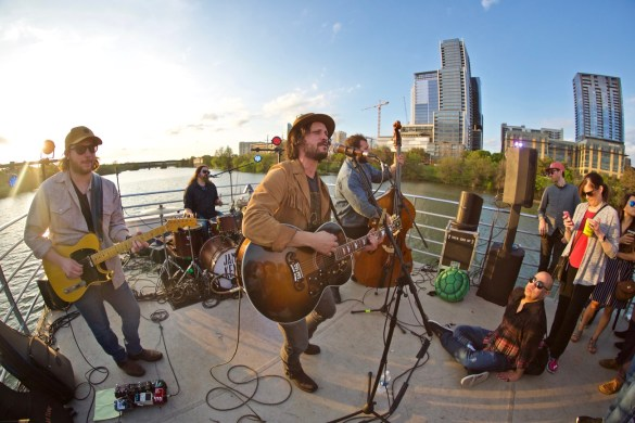 Jamie Kent Band // New Nashville Riverboat Cruise // SXSW 3/16/2017. Photo by Derrick K. Lee, Esq. (@Methodman13) for www.BlurredCulture.com.