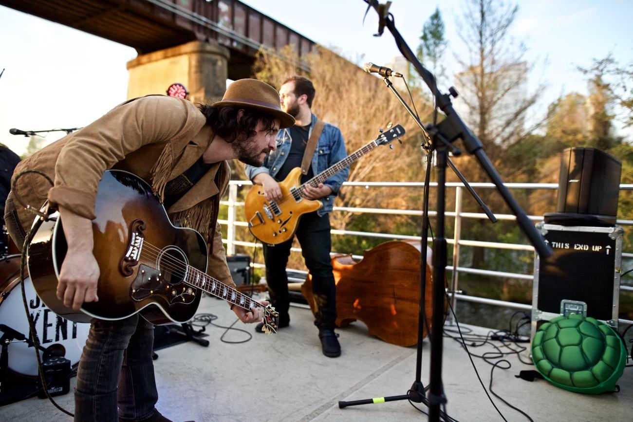 Jamie Kent Band // New Nashville Riverboat Cruise // SXSW 3/16/2017. Photo by Derrick K. Lee, Esq. (@Methodman13) for www.BlurredCulture.com.