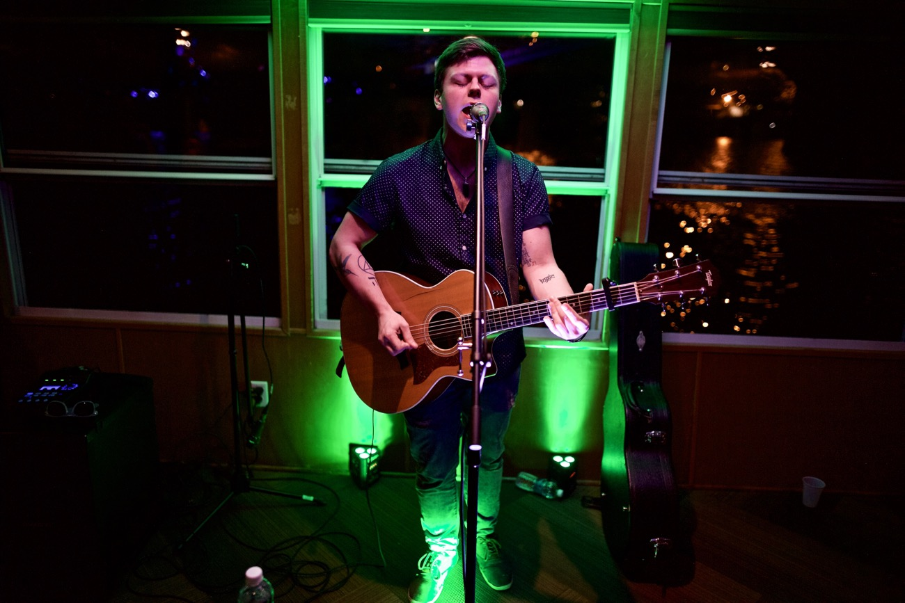 Spazz Cardigan // New Nashville Riverboat Cruise // SXSW 3/16/2017. Photo by Derrick K. Lee, Esq. (@Methodman13) for www.BlurredCulture.com.