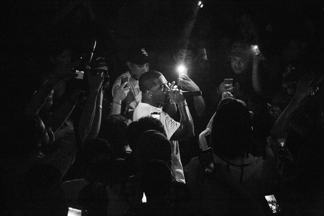 A$AP Ferg at Doperoots & Traplord Present Dopeland in L.A. 4/20/17. Photo by @markie818. Used with permission.