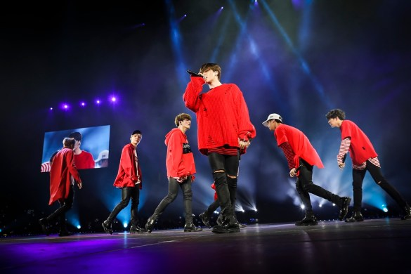 """BTS Live Trilogy Episode III The Wings Tour"""" @ Honda Center 4/2/17 // Photo courtesy of the artist // Used With Permission"""