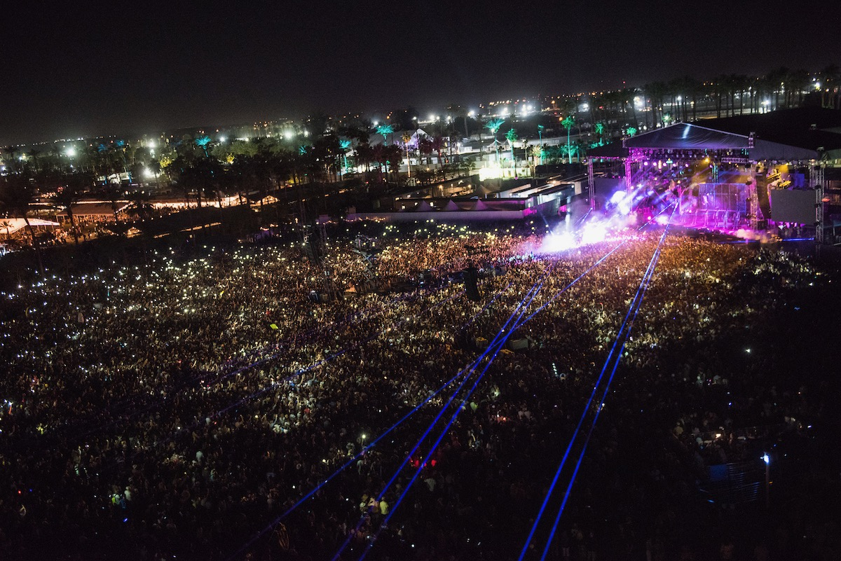 Coachella Crowd 2017. Photo by Andrew Jorgenson. Courtesy of Coachella. Used with permission.