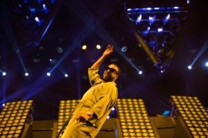 French Montana w/ DJ Khaled @ Coachella 4/16/17. Photo by Greg Noire. Courtesy of Coachella. Used with permission.