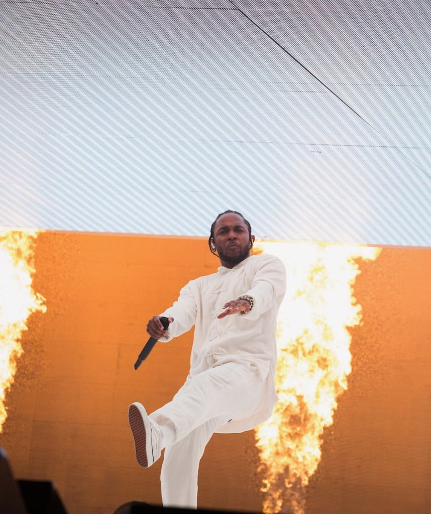 Kendrick Lamar @ Coachella 4/16/17. Photo by Greg Noire. Courtesy of Coachella. Used with permission.