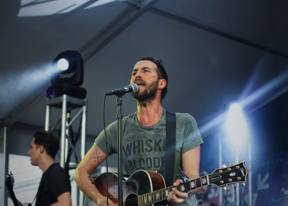 Mondo Cozmo // 3/16/2017 at StubHub Live: The Sound Stage for Culture Collide at Banger's // SXSW 2017 // Photo by Marina Rose (@MarinaRose7) for www.BlurredCulture.com.
