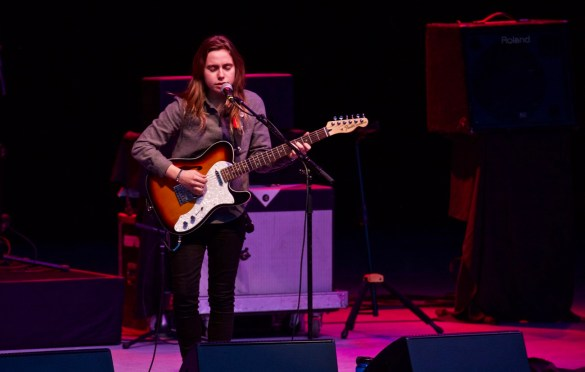 Julien Baker @ The Greek Theatre 5/13/2017 // Photo by Derrick K. Lee, Esq. (@Methodman13) for www.BlurredCulture.com.