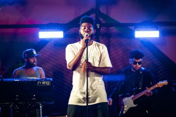 Khalid at Santa Monica Pier's Twilight Concert 6/22/17. Photo by Justin James (@JustnJames_) for www.BlurredCulture.com.