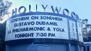 """Sondheim on Sondheim"" @ The Hollywood Bowl 7/23/17."