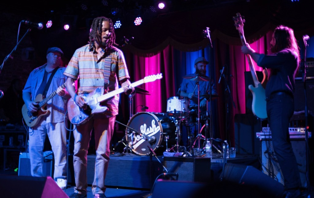 Black Joe Lewis & The Honeybears @ Brooklyn Bowl 9/6/17. Photo by Mike Golembo (@Instalembo) for www.BlurredCulture.com.