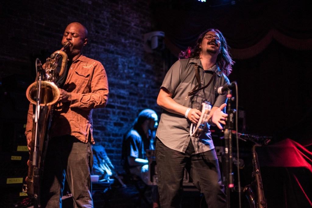 Black Joe Lewis & The Honeybears @ Brooklyn Bowl 9/6/17. Photo by Mike Golembo (@Instalembo) for www.BlurredCulture.com.