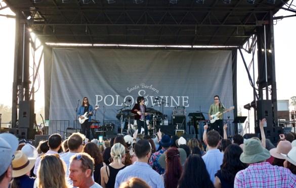 LP at Santa Barbara Polo & Wine Festival 10/7/17. Photo by Derrick K. Lee, Esq. (@Methodman13) for www.BlurredCulture.com.