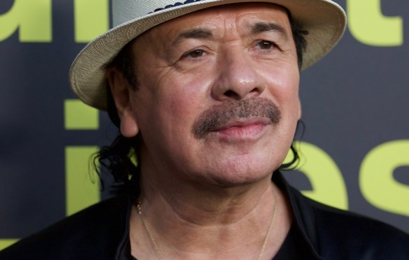 Carlos Santana on the Red Carpet for