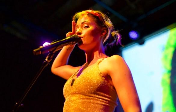 Lauren Ruth Ward at The Bootleg Theater 9/29/17. Photo by Derrick K. Lee, Esq. (@Methodman13) for www.BlurredCulture.com.