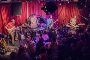 Grizzly Bear @ KCRW'S Apogee Sessions 9/26/17. Photo by Dustin Downing. Courtesy of KCRW. Used with permission.