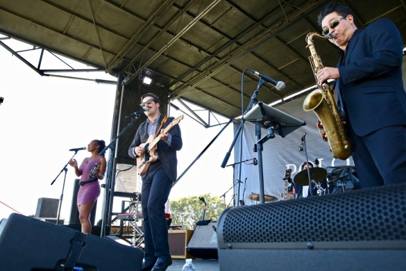 Nick Waterhouse at Santa Barbara Polo & Wine Festival 10/7/17. Photo by Derrick K. Lee, Esq. (@Methodman13) for www.BlurredCulture.com.