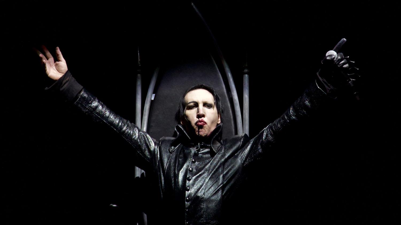 Marilyn Manson @ Ozzfest Meets Knotfest 11/5/17. Photo by Derrick K. Lee, Esq. (@Methodman13) for www.BlurredCulture.com.