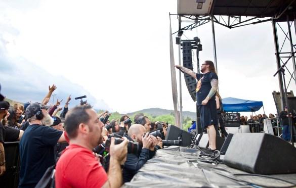 Black Dahlia Murder @ Ozzfest Meets Knotfest 11/5/17. Photo by Derrick K. Lee, Esq. (@Methodman13) for www.BlurredCulture.com.