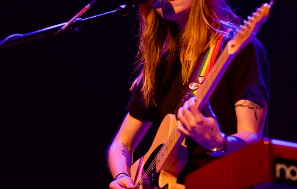 Julien Baker @ Palace Theatre 12/14/17. Photo by Derrick K. Lee, Esq. (@Methodman13) for www.BlurredCulture.com.
