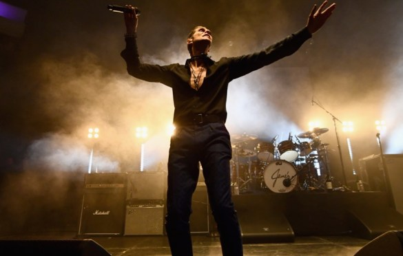LOS ANGELES, CA - DECEMBER 08:  Perry Farrell of Jane's Addiction performs onstage during the 2017 Rhonda's Kiss Benefit Concert at Hollywood Palladium on December 8, 2017 in Los Angeles, California.  (Photo by Emma McIntyre/Getty Images for Rhonda's Kiss). Used with permission.