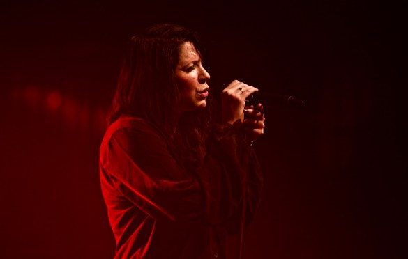K.Flay @ Fonda Theatre 1/12/18. Photo by Derrick K. Lee, Esq. (@Methodman13) for www.BlurredCulture.com.