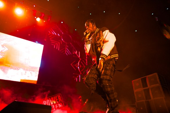 Travi$ Scott @ The Forum 12/16/17 for Power 106's Cali Christmas. Photo by Derrick K. Lee, Esq. (@Methodman13) for www.BlurredCulture.com.