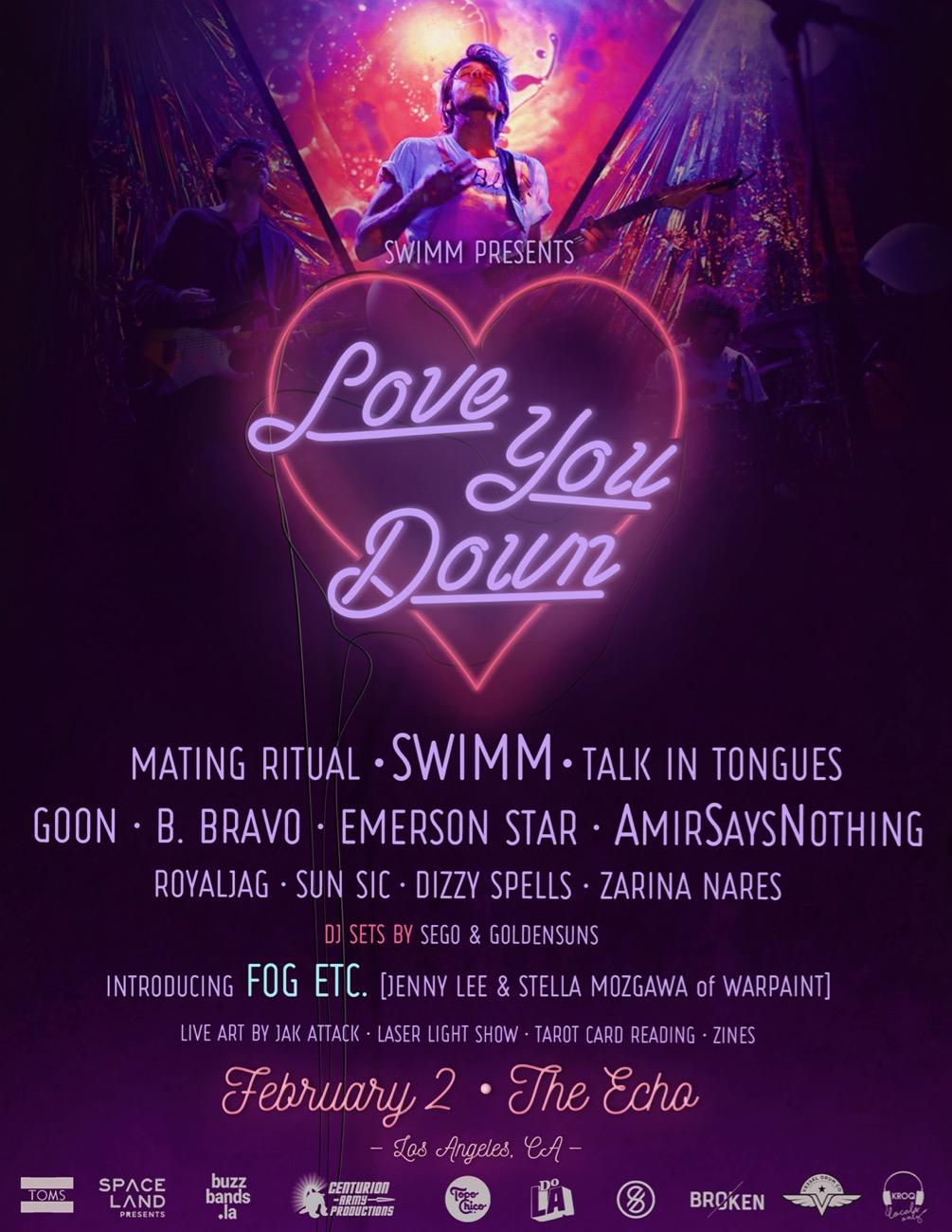 SWIMM presents Love You Down II.
