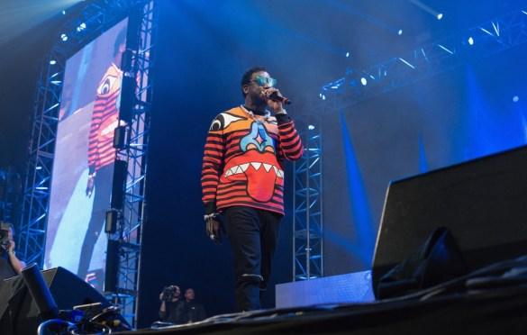 Gucci Mane @ Rolling Loud SoCal 2017. Photo by Markie Escalante (@Markie818) for www.BlurredCulture.com.