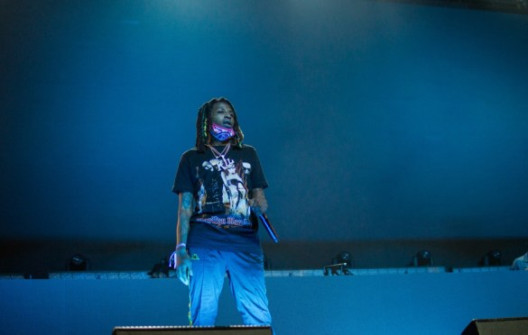 Nef The Pharaoh @ Rolling Loud SoCal 2017. Photo by Markie Escalante (@Markie818) for www.BlurredCulture.com.