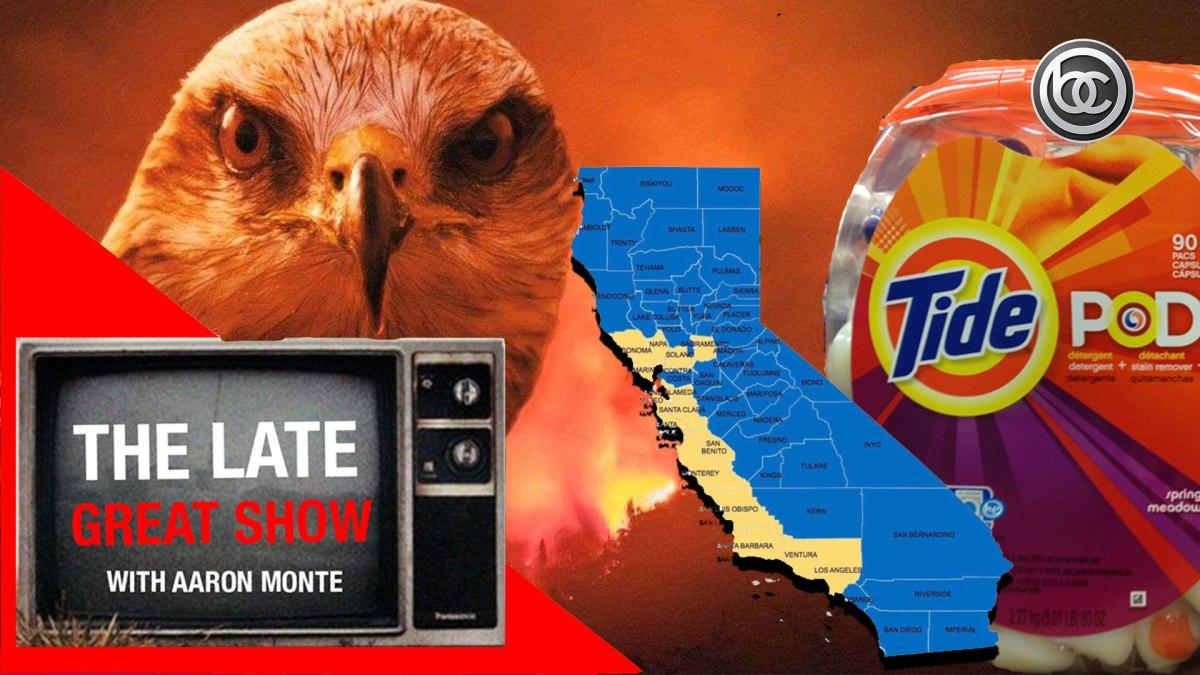 Tide Pod Challenge, Birds Are Using Fire & California Splits In Two?