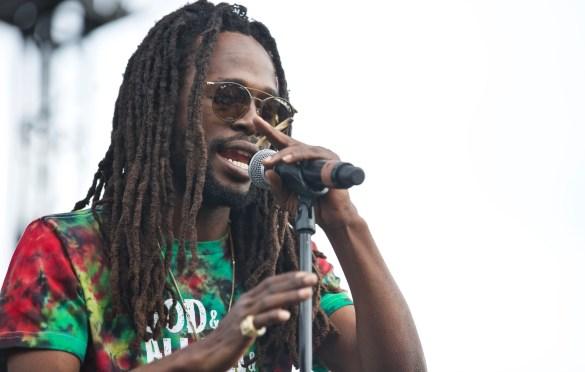 Jesse Royal. One Love Cali Reggae Fast 2018 @ The Queen Mary 2/10/18. Photo by Derrick K. Lee, Esq. (@Methodman13) for www.BlurredCulture.com.