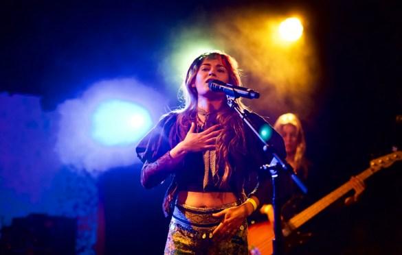 Lauren Ruth Ward at The Echo 1/15/18. Photo by Derrick K. Lee, Esq. (@Methodman13) for www.BlurredCulture.com.