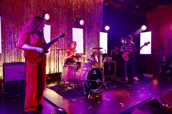 Pinky Pinky for Girlschool @ Bootleg Theatre 2/3/18. Photo by Derrick K. Lee, Esq. (@Methodman13) for www.BlurredCulture.com.