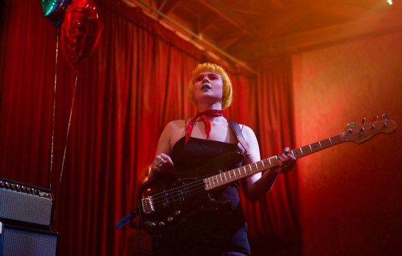 The Regrettes @ Bootleg Theater 2/22/18. Photo by Derrick K. Lee, Esq. (@Methodman13) for www.BlurredCulture.com.