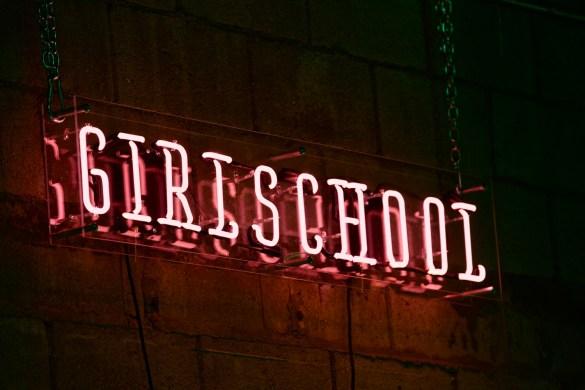 Girlschool 2018 @ Bootleg Theatre. Photo by Derrick K. Lee, Esq. (@Methodman13) for www.BlurredCulture.com.