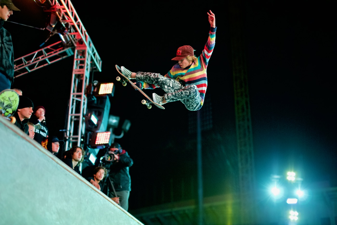 Skateboarding Tricks @ Air + Style 2018. Photo by Derrick K. Lee, Esq. (@Methodman13) for www.BlurredCulture.com.