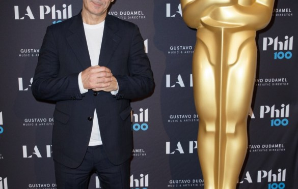 "Oscar®-nominated composer Alexandre Desplat prior to ""The Oscar Concert"" presented by the Academy of Motion Picture Arts and Sciences on Thursday, February 28, at the Walt Disney Concert Hall in Los Angeles. The Oscars will be presented on Sunday, March 4, 2018, at the Dolby Theatre® in Hollywood, CA and televised live by the ABC Television Network. Photo by Paul Hebert/ (C) A.M.P.A.S. Used with permission."