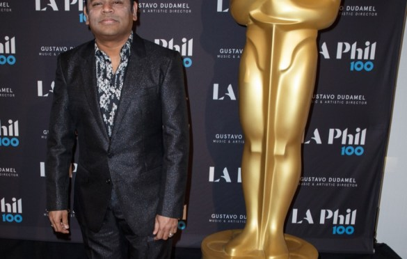 "Composer A.R. Rahman prior to ""The Oscar Concert"" presented by the Academy of Motion Picture Arts and Sciences on Thursday, February 28, at the Walt Disney Concert Hall in Los Angeles. The Oscars® will be presented on Sunday, March 4, 2018, at the Dolby Theatre® in Hollywood, CA and televised live by the ABC Television Network. Photo by Paul Hebert/ (C) A.M.P.A.S. Used with permission."