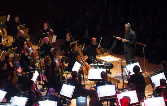 """Conductor Thomas Wilkins during """"The Oscar Concert"""" presented by the Academy of Motion Picture Arts and Sciences on Thursday, February 28, at the Walt Disney Concert Hall in Los Angeles. The Oscars® will be presented on Sunday, March 4, 2018, at the Dolby Theatre® in Hollywood, CA and televised live by the ABC Television Network."""