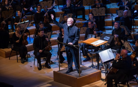 "Oscar®-nominated composer John Williams during ""The Oscar Concert"" presented by the Academy of Motion Picture Arts and Sciences on Thursday, February 28, at the Walt Disney Concert Hall in Los Angeles. The Oscars® will be presented on Sunday, March 4, 2018, at the Dolby Theatre® in Hollywood, CA and televised live by the ABC Television Network. Photo by Paul Hebert/ (C) A.M.P.A.S. Used with permission."
