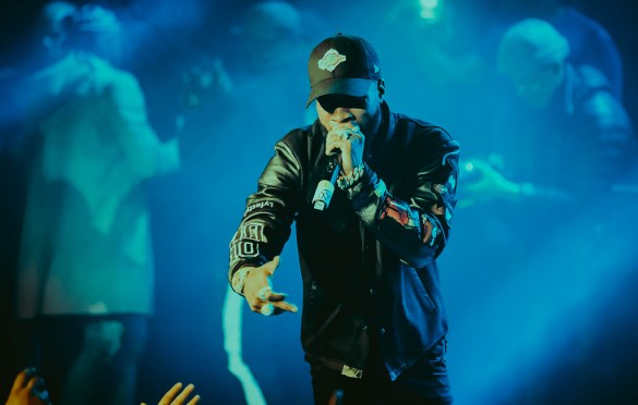 Tory Lanez @ Mod Club Theatre 3/4/18. Photo by Jackson Fleming (@JacksonHFleming) for www.BlurredCulture.com.