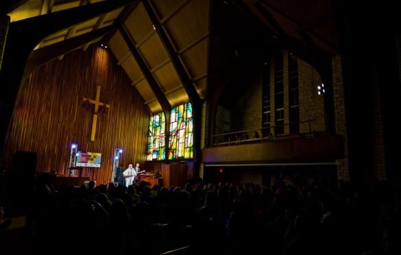 Billie Eilish @ Central Presbyterian Church for SXSW 3/14/18. Photo by Derrick K. Lee, Esq. (@Methodman13) for www.BlurredCulture.com.