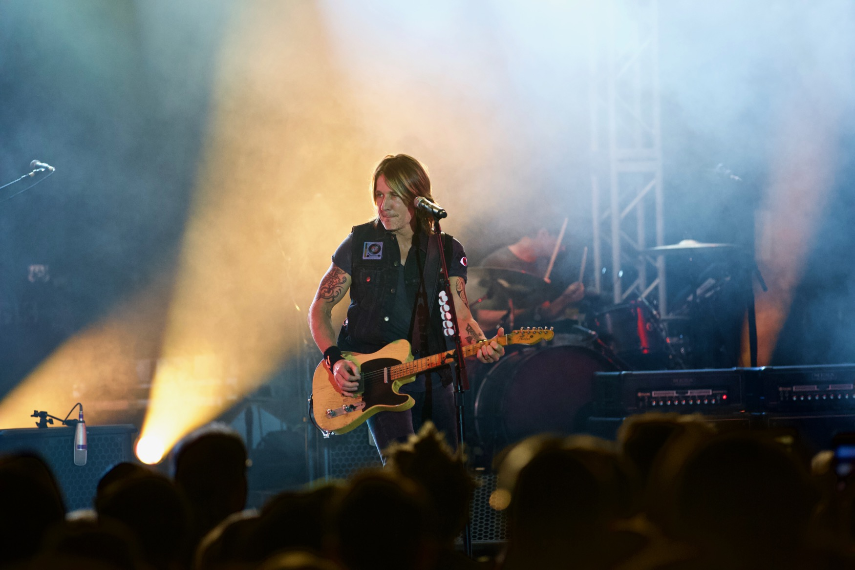 Keith Urban @ Stubb's 3/16/18. SXSW 2018. Photo by Derrick K. Lee, Esq. (@Methodman13) for www.BlurredCulture.com.