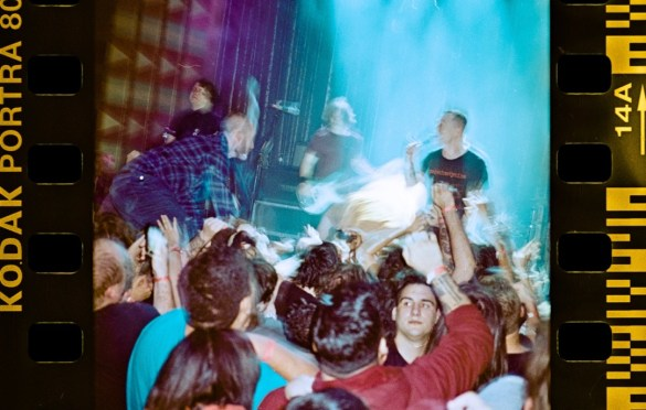 Touché Amoré @ The Regent Theater 2/16/18. Photo by Nikki for www.BlurredCulture.com. Used with permission.