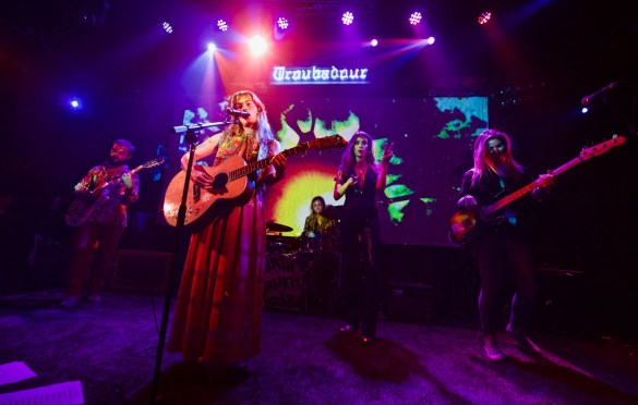 Lauren Ruth Ward @ The Troubadour 3/29/18. Photo by Derrick K. Lee, Esq. (@Methodman13) for www.BlurredCulture.com.