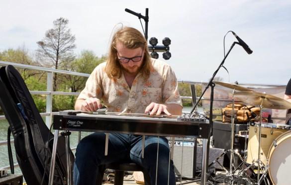 Nellen Dryden on Jamie Kent's New Nashville Riverboat Showcase during SXSW 3/16/18. Photo by Derrick K. Lee, Esq. (@Methodman13) for www.BlurredCulture.com.