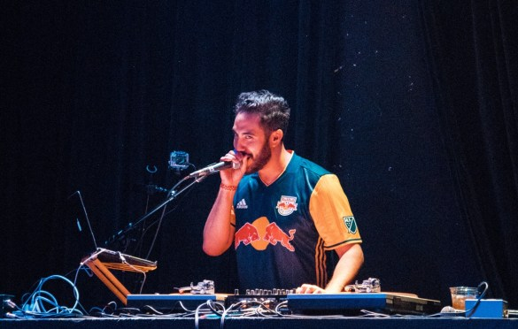 DJ Zo @ Constellation Room 4/4/18. Photo by Ghanee Ludin (@GhaneePhoto) for www.BlurredCulture.com.