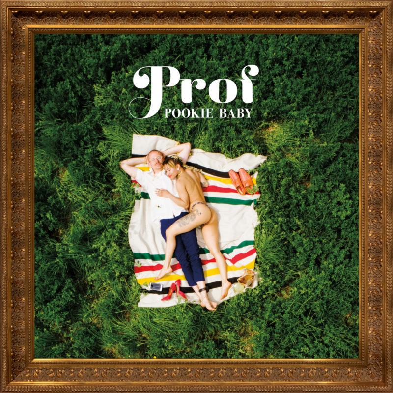 Prof. Pookie Baby. Album cover.
