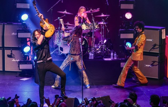 The Darkness @ Fonda Theatre 3/29/18. Photo by Constantin Preda (@ctpredaportraits) for www.BlurredCulture.com.