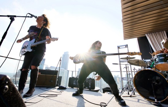 Spare Parts For Broken Hearts @ SXSW 3/17/18. Photo by Derrick K. Lee, Esq. (@Methodman13) for www.BlurredCulture.com.